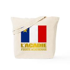 Acadian Flag Tote Bag