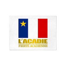 Acadian Flag 5'x7'Area Rug