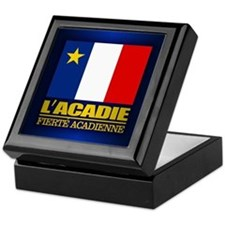 Acadian Flag Keepsake Box