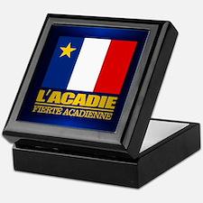 Acadian Flag Keepsake Box