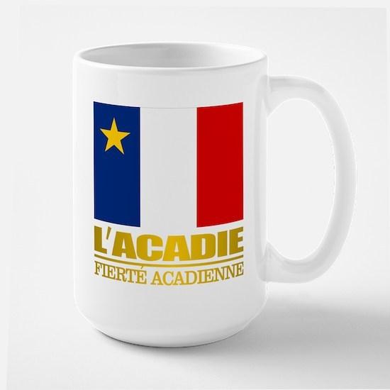 Acadian Flag Mugs