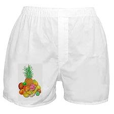 Tropical Fruit Boxer Shorts