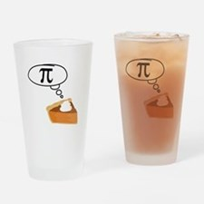 Pumpkin Pie Pi Math Humor Drinking Glass
