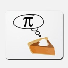 Pumpkin Pie Pi Math Humor Mousepad
