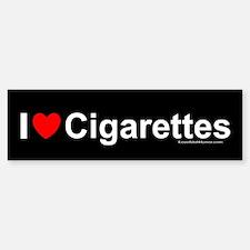 Cigarettes Bumper Bumper Sticker