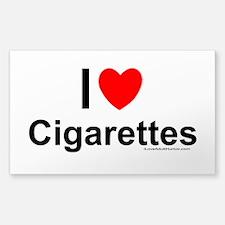 Cigarettes Decal