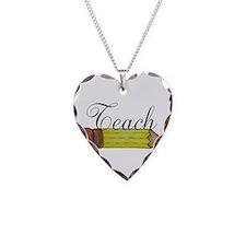 Teach Pencil Necklace
