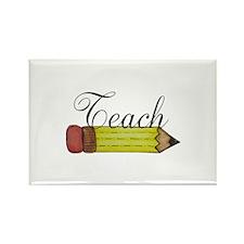 Teach Pencil Magnets