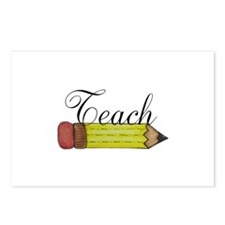 Teach Pencil Postcards (Package of 8)