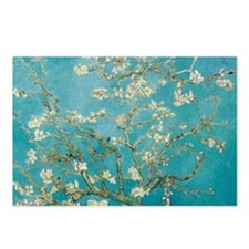 van gogh almond blossoms Postcards (Package of 8)