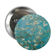 "van gogh almond blossoms 2.25"" Button (10 pack)"