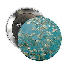 "van gogh almond blossoms 2.25"" Button"