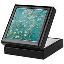 van gogh almond blossoms Keepsake Box
