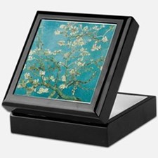 van gogh almond blossoms Keepsake Box