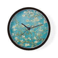 van gogh almond blossoms Wall Clock
