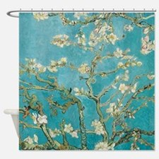 van gogh almond blossoms Shower Curtain