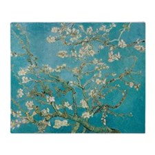 van gogh almond blossoms Throw Blanket