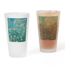 van gogh almond blossoms Drinking Glass