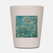 van gogh almond blossoms Shot Glass