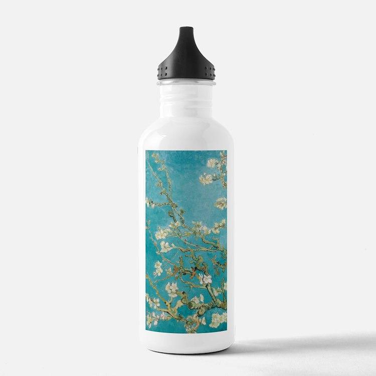van gogh almond blossoms Water Bottle