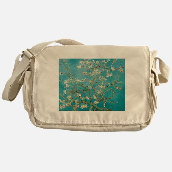 van gogh almond blossoms Messenger Bag