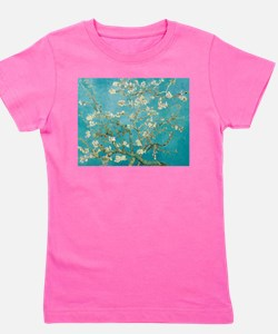 van gogh almond blossoms Girl's Tee
