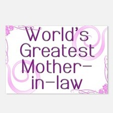 World's Greatest Mother-in-Law Postcards (Package