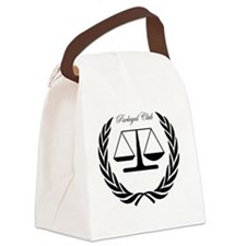 Paralegal Club for Kaplan  Canvas Lunch Bag
