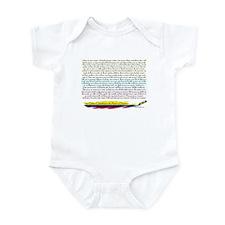 50 Dichos Amor y Desamor Infant Bodysuit