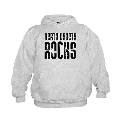 North Dakota Rocks Kids Hoodie