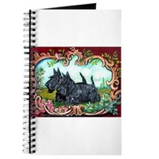 Scottish Terrier Pair Journal