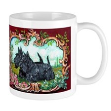 Scottish Terrier Pair Mugs