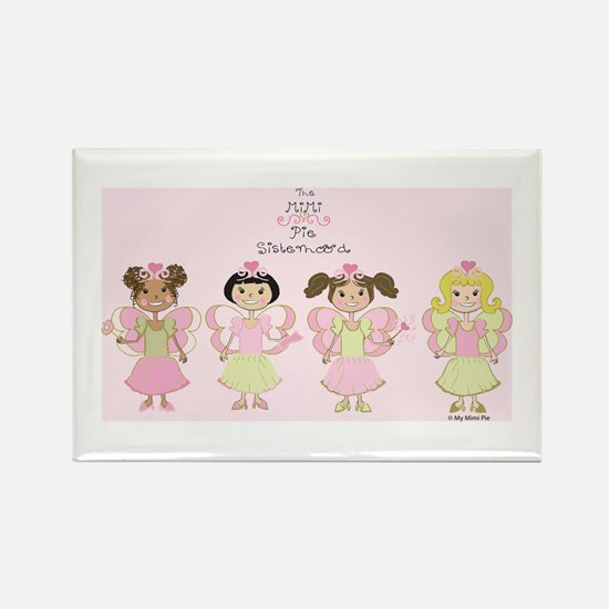 Funny Mexican princess Rectangle Magnet
