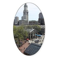 Quincy Market in April Decal