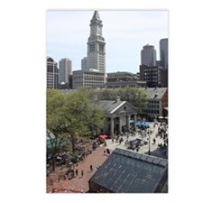 Quincy Market in April Postcards (Package of 8)
