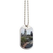 Quincy Market in April Dog Tags