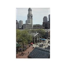 Quincy Market in April Rectangle Magnet