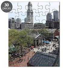 Quincy Market in April Puzzle
