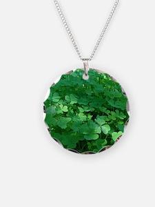 Funny 3 leaf clover Necklace