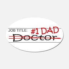 Job Dad Doctor Wall Decal