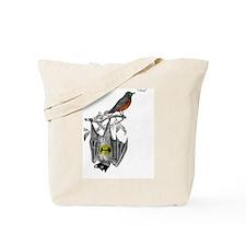 A Bat and a Robin Tote Bag