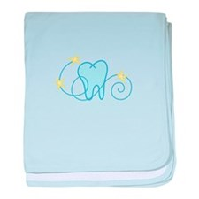 Tooth baby blanket