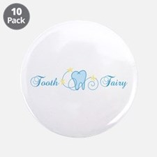 """Tooth Fairy 3.5"""" Button (10 pack)"""