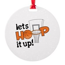 Lets Hoop It Up Ornament