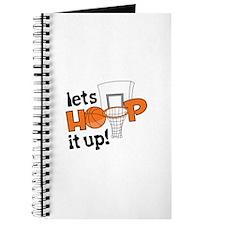 Lets Hoop It Up Journal