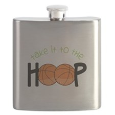 Too The Hoop Flask