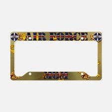 Harvest Moons Air Force Mom License Plate Holder