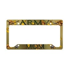 Harvest Moons Army Mom License Plate Holder