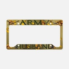 Harvest Moons Army Husband License Plate Holder