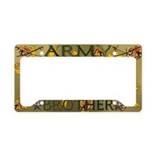 Harvest Moons Army Brother License Plate Holder